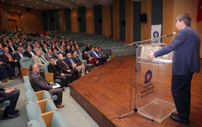 Antalya Büyükşehir Personeline 'İletişim Ve Motivasyon' Eğitimi