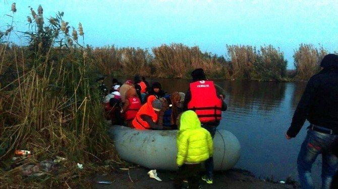 Aydın'da 12 Kaçak Göçmen Yakalandı