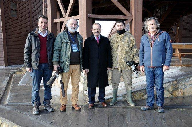 Başkan Şahin'den Fotosafari Yarışmacılarına Ziyaret