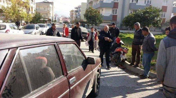 Milas'ta Trafik Kazası: 1 Yaralı
