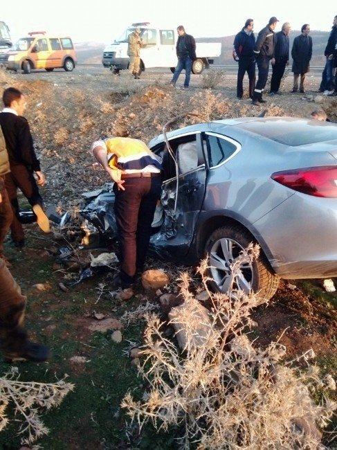 Bingöl'de Trafik Kazası: 1 Ölü