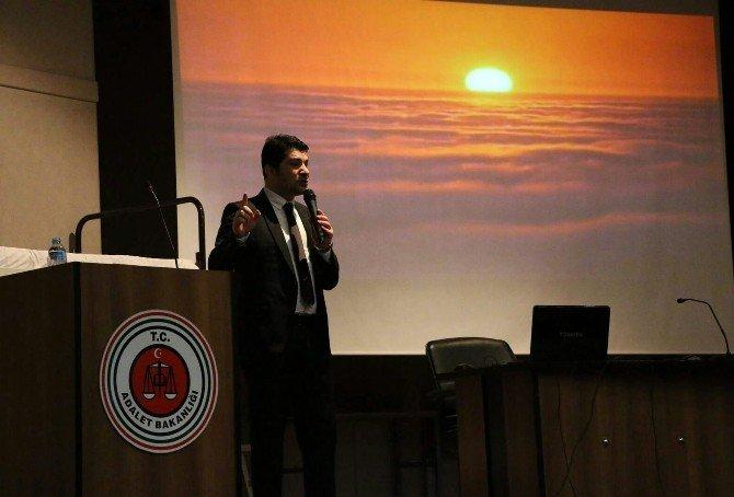Türkiye Gençlik Ve Spor Konfederasyonun'dan Ceza İnfaz Koruma Memurlarına Şiir Terapisi