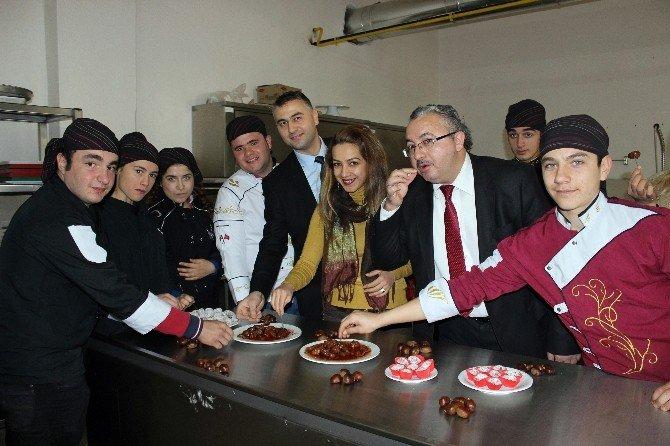 Buldan'ın Organik Kestane Şekeri, Bursa'nın Kestane Şekeri'ne Rakip Oldu