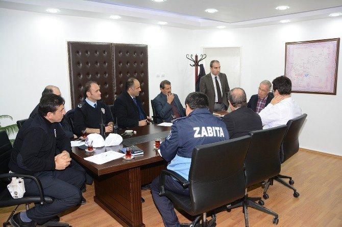 Dinar'a Trafik Elektronik Denetleme Sistemi Kuruluyor