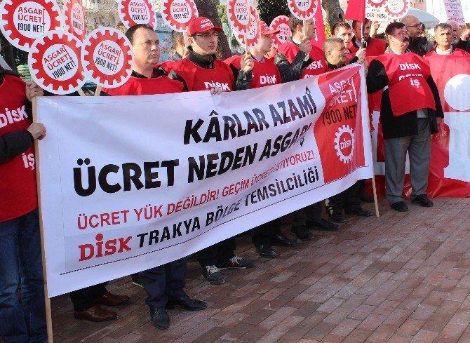 DİSK'ten Asgari Ücret Ve Taşeron İşçiler Açıklaması