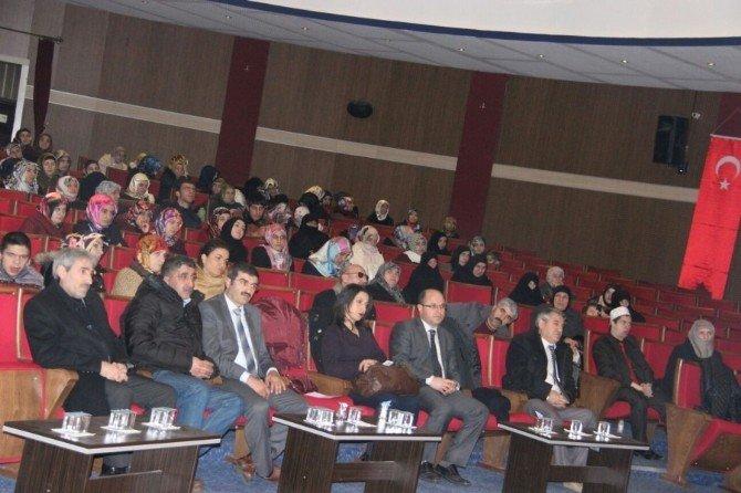 Erzurum'da ''Engelleri Birlikte Aşalım'' Paneli
