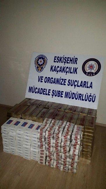 Eskişehir'de Kaçak Sigara Ve Sahte Para Operasyonu