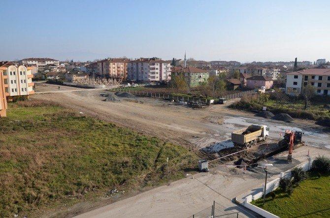 Erenler Evliya Çelebi Caddesinde Altyapı Çalışmaları Başladı