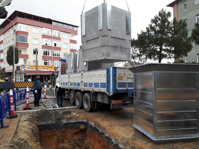 Eyüp'e 110 Adet Yeraltı Çöp Konteyneri Konulacak