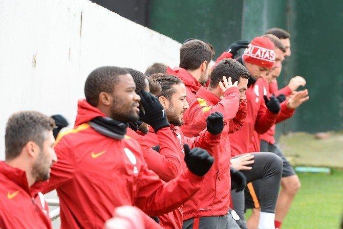Galatasaray'da Akhisar Belediyespor Maçı Hazırlıkları