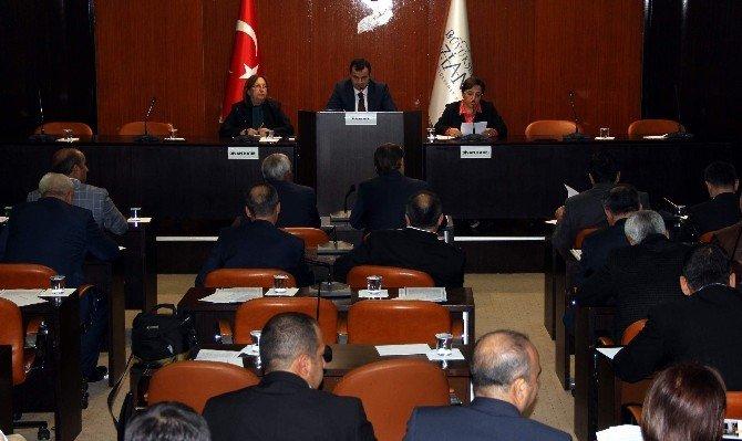 Büyükşehir Belediye Meclisi Aralık Ayı Toplantısı Yapıldı