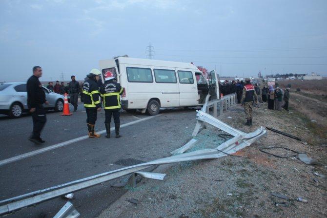 Birecik'te kaza: 1 ölü, 2 yaralı