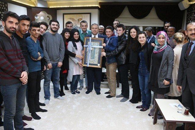Vali Ali Fidan, Gençlerle Bir Araya Geldi