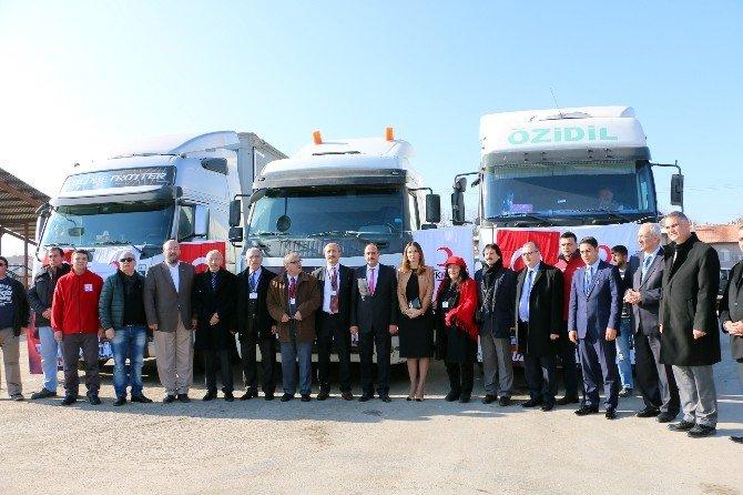 Gölbaşı Belediyesi'nden Bayırbucak Türkmenlerine Yardım Eli
