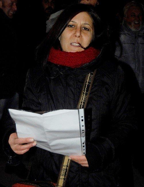 Eskişehir'de Sokağa Çıkma Yasakları Protesto Edildi