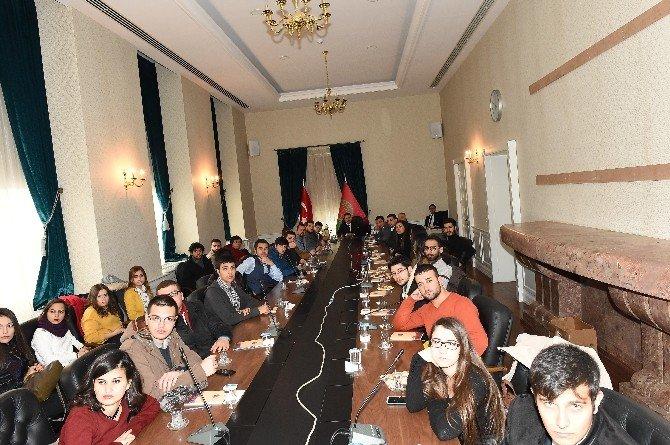 Hasan Kalyoncu Hukuk Öğrencilerinden Ankara Gezisi
