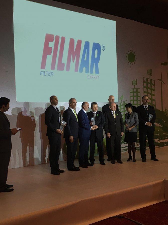 Filmar Filtre'ye 2015 Çevre Tesis Ödülü