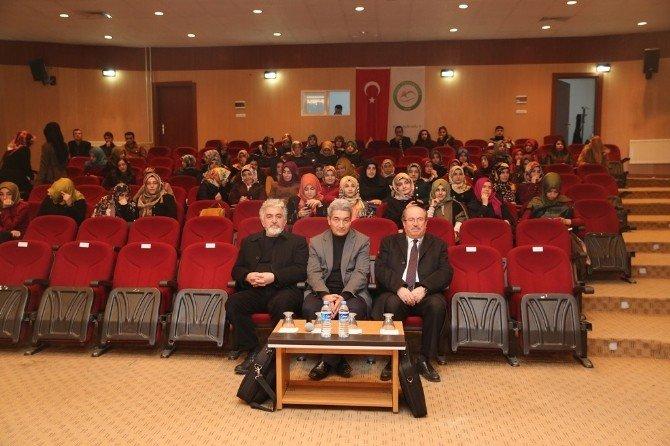 """Iğdır'da """"Fatalizm Felsefesi Ve Kader"""" Konulu Konferans"""