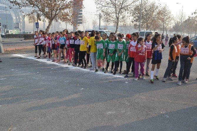 260 Öğrenci Atatürk Koşusunda Yarıştı