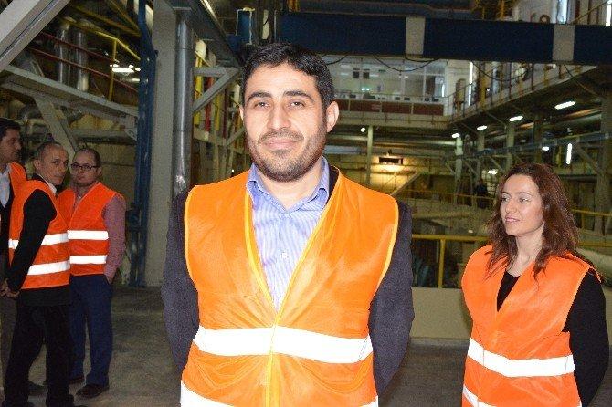 Aytaç Yetkilileri Şeker Pancarının Şekere Yolculuğunu Kayseri Şeker'de İnceledi