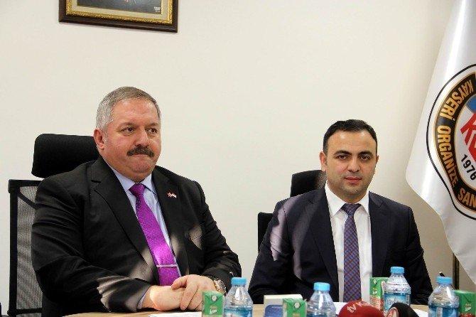 Kosb Yönetim Kurulu Başkanı Tahir Nursaçan