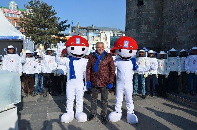 Wınterfest Tanıtım Fuarı'nda Çat Belediyesi Rüzgarı Esti