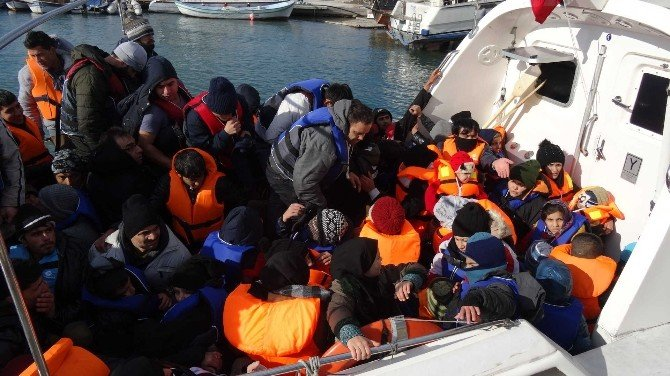 58 Sığınmacı Denizden Kurtarıldı