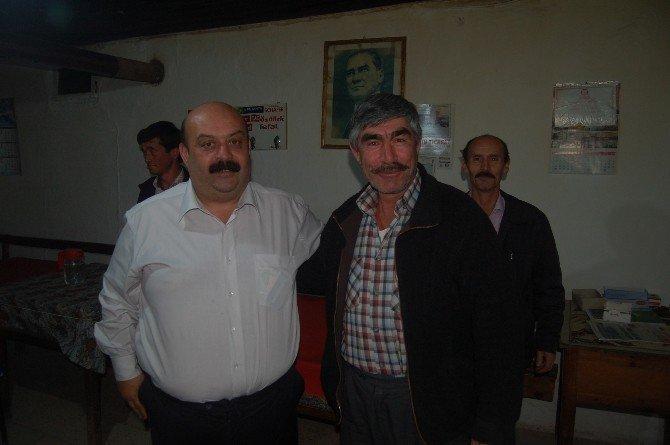 Lapseki CHP İlçe Teşkilatı Köy Ziyaretlerine Devam Ediyor