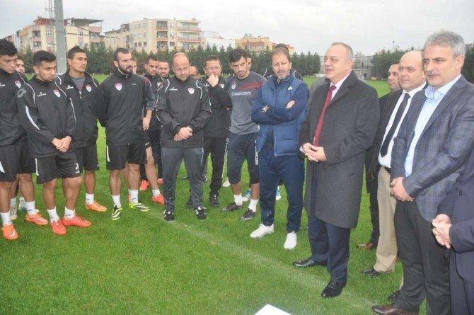 Başkan Ergün'den Manisaspor'a Üç Müjde