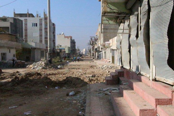Nusaybin'de yasak kalktı, evlerdeki yeni hasarlar ortaya çıktı