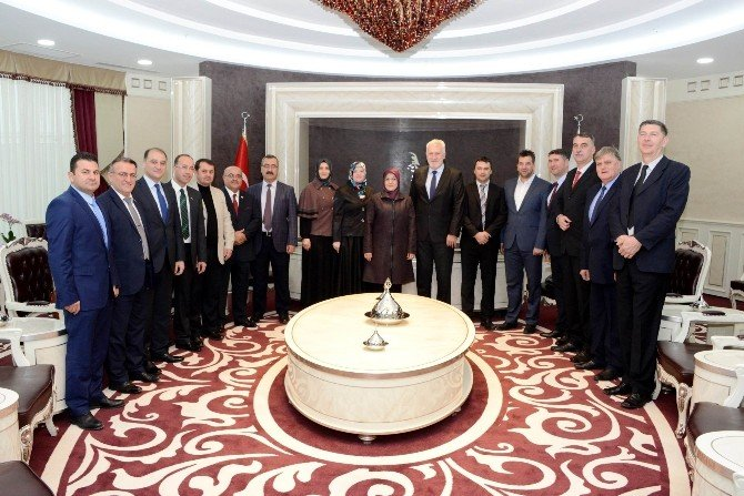 Bosna Hersek'in Hadzici Heyetinde Başkan Toru'ya Ziyaret