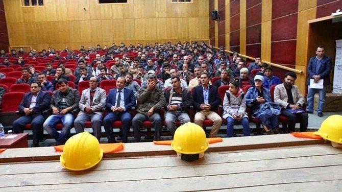 Mut'ta İş Makinesi Operatörü Yetiştirme Kursu