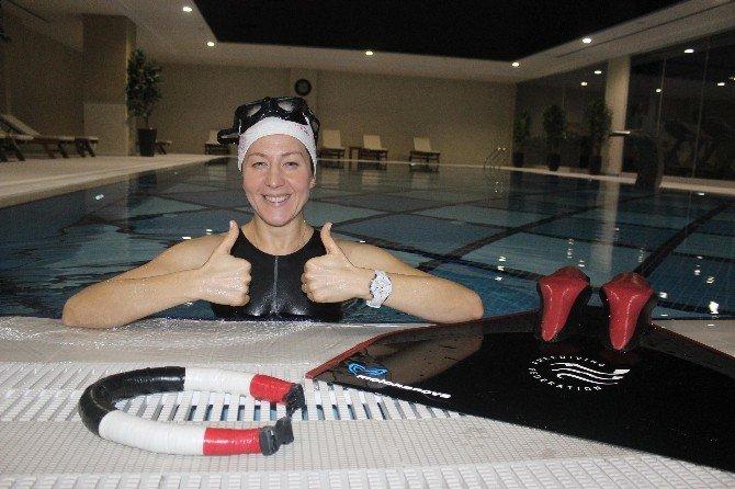 Milli Yüzücü, Dünya'da Bir İlke İmza Atmak İçin Hazırlanıyor