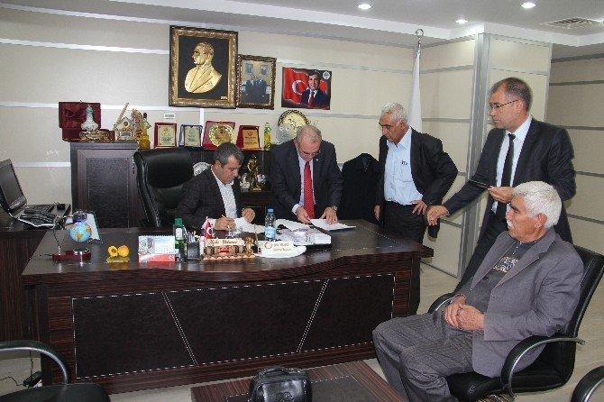 Mut Belediyesi'nde Sosyal Denge Tazminatı Sözleşmesi İmzalandı