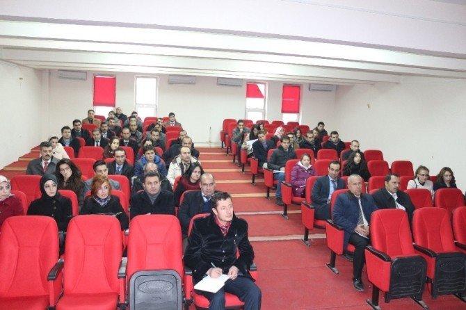 Bulanık'ta Okul Müdürleri Bilgilendirildi