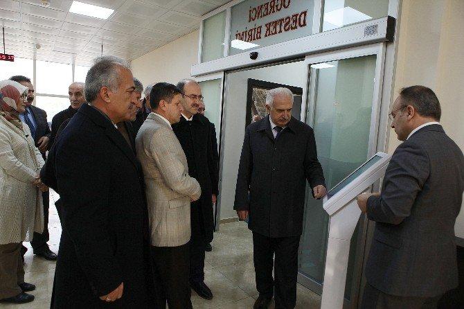 Öğrenci İşleri Daire Başkanlığı Ve Dış İlişkiler Ofisi Yeni Binası Hizmete Açıldı