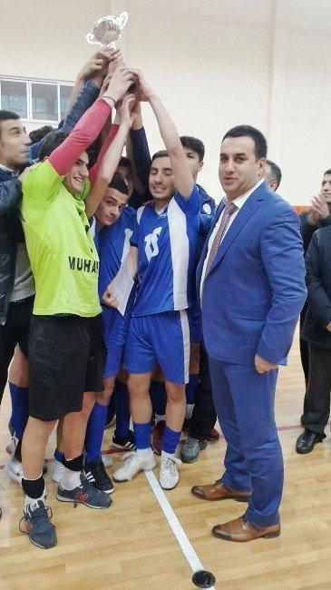 Rize'de Salon Futbolunda Şampiyonlar Belli Oldu