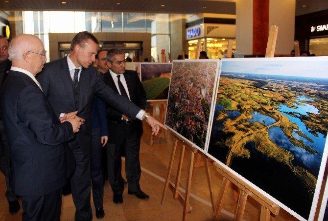 Litvanya Ankara Büyükelçisi Sergi Açılışına Katıldı