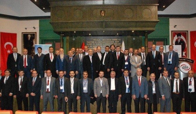 Şanlıurfa Ticaret Ve Sanayi Odası Heyeti Ankara Gezisini Tamamladı
