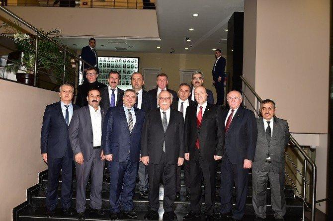 Bozüyük TSO Yöneticileri Bakan Avcı'yı Ziyaret Etti