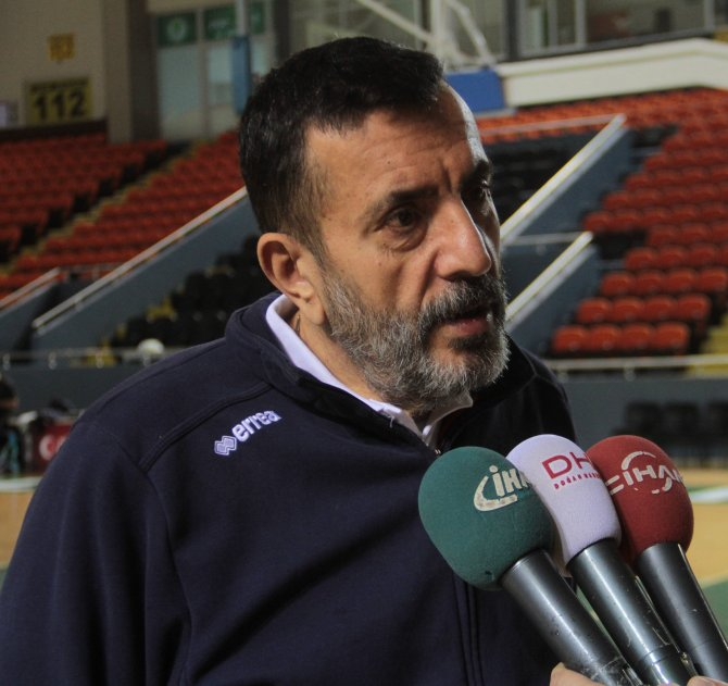 Başantrenör Sunter: Hedefimiz Avrupa Kupası'nı Ankara'ya getirmek