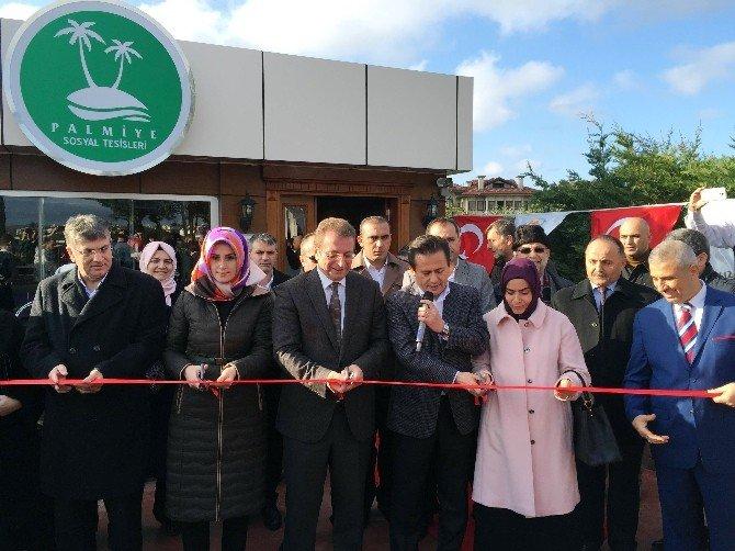 Tuzla Belediyesi Palmiye Sosyal Tesisleri Yeniden Vatandaşların Hizmetinde