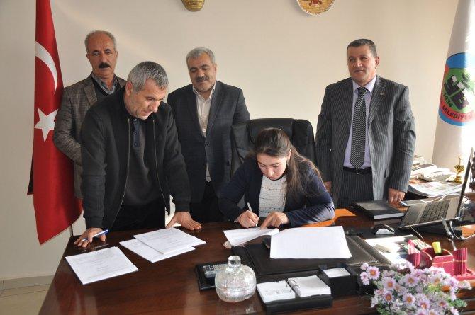 Yüksekova Belediyesi ile Tüm Bel Sen arasında toplu iş sözleşmesi imzalandı