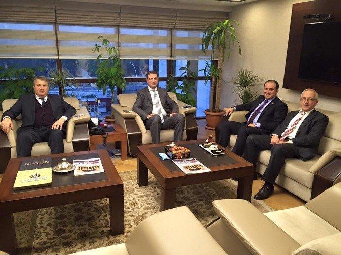 Başkan Çerçi, Yeni Projeler İçin Ankara'da Temaslarda Bulundu