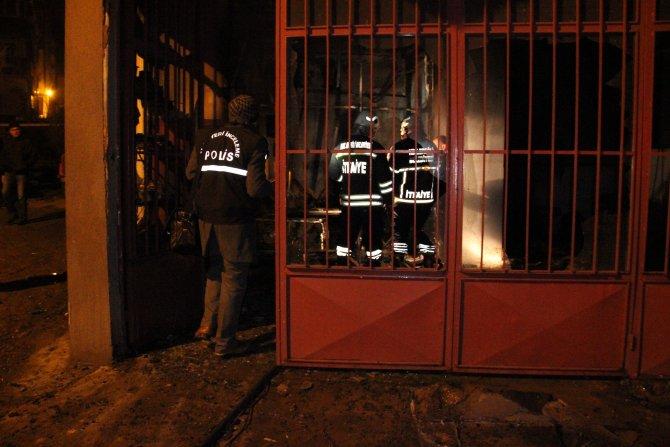 Zonguldak'ta yangın paniği
