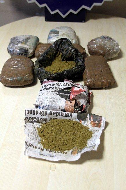 Narkotik Polisinden 150 Bin Liralık Esrar Vurgunu