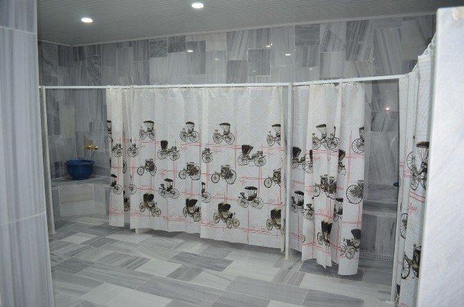 Belediyenin Yaptırdığı Hamam Ve Sauna Hizmete Açıldı