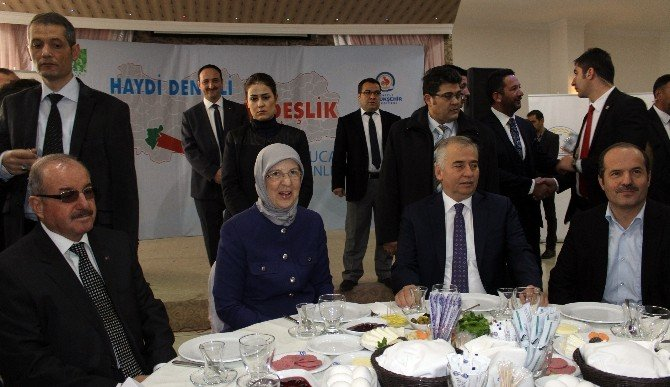 Bakan Ramazanoğlu, 28 Tır Yardım Malzemesini Denizli'den Suriye'ye Uğurladı