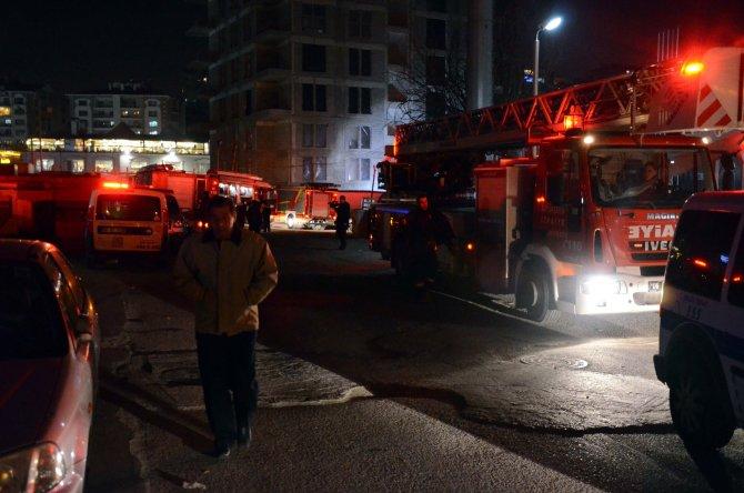 Ankara'da alışveriş merkezinde yangın: 4 kişi dumandan etkilendi
