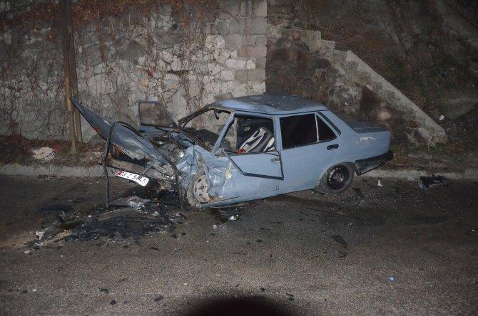Ankara'da kaza: 2'si polis 4 yaralı